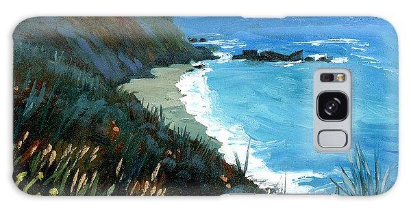 Big Sur Coastline Galaxy Case
