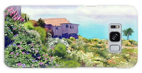 Big Sur Cottage Galaxy Case