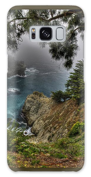 Big Sur Julia Pfeiffer State Park-1 Central California Coast Spring Early Afternoon Galaxy Case