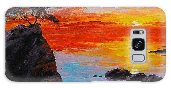 Big Sur Sunset Galaxy Case