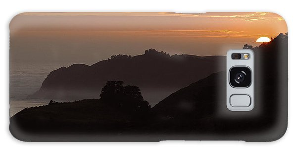 Big Sur Sunset Galaxy Case
