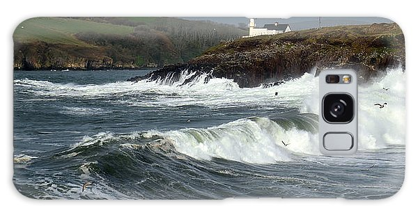 Big Swell In Dingle Bay Galaxy Case