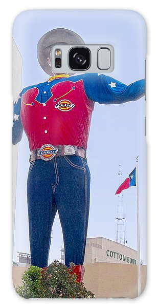 Big Tex And The Cotton Bowl  Galaxy Case