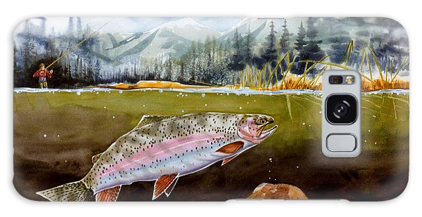 Big Thompson Trout Galaxy Case by Craig T Burgwardt