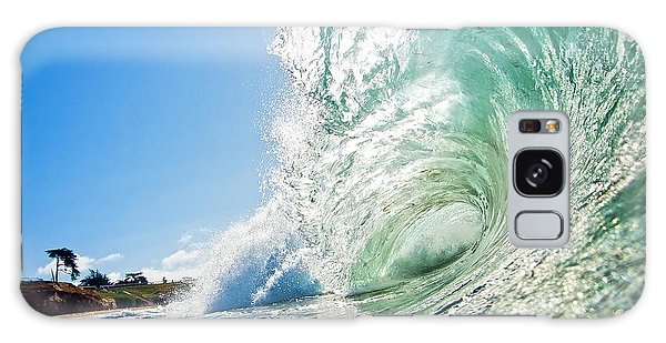 Big Wave On The Shore Galaxy Case