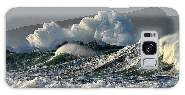 Big Waves At Clogher Beach Galaxy Case