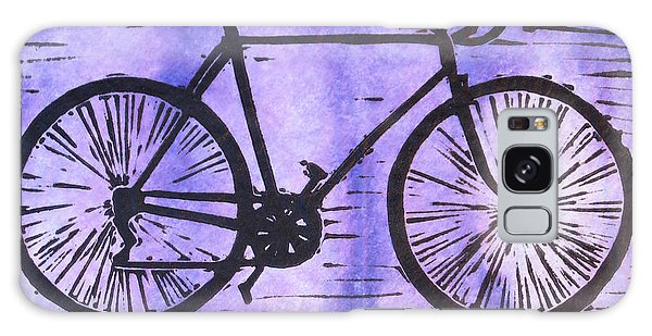 Bike 8 Galaxy Case by William Cauthern
