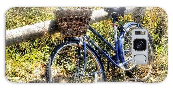 Bike At Nantucket Beach Galaxy Case