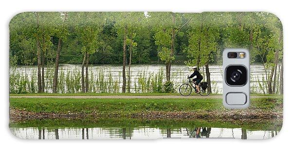 Bike Path Galaxy Case