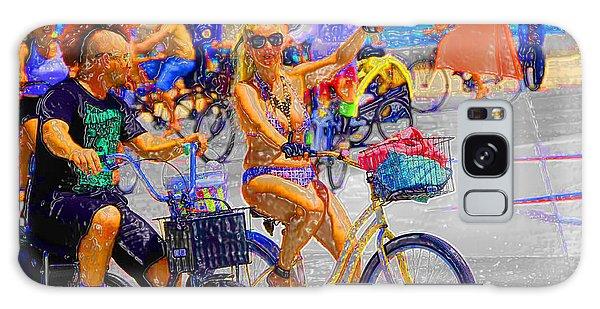 Bike Ride II Galaxy Case
