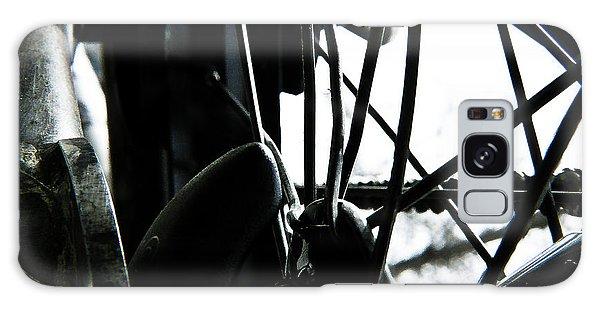 Bike Wheel Galaxy Case by Joel Loftus