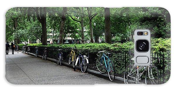Bikes Relaxing Galaxy Case