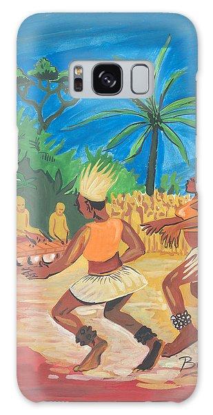 Bikutsi Dance 2 From Cameroon Galaxy Case by Emmanuel Baliyanga