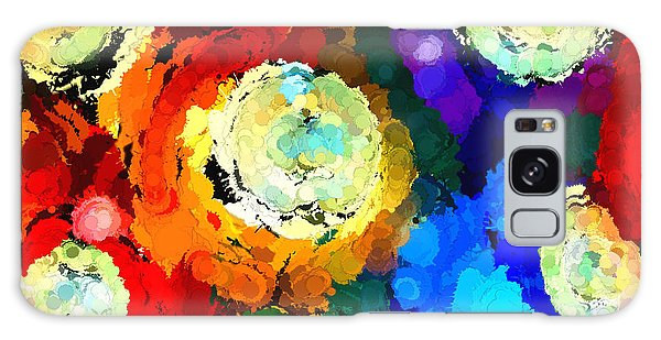 Billiard Balls Abstract Digital Art Galaxy Case