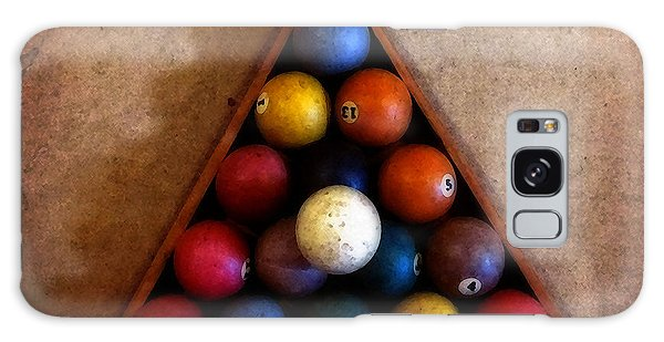 Billiard Balls Galaxy Case