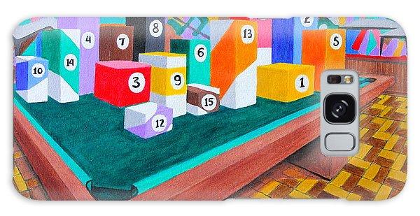 Billiard Table Galaxy Case by Lorna Maza
