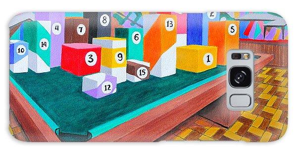 Billiard Table Galaxy Case