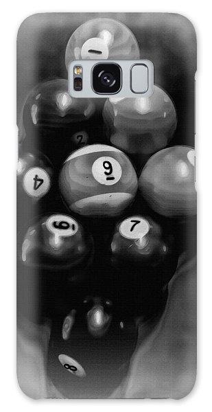 Billiards Art - Your Break - Bw  Galaxy Case