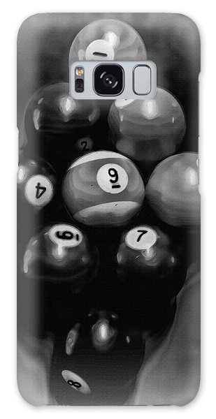 Billiards Art - Your Break - Bw  Galaxy Case