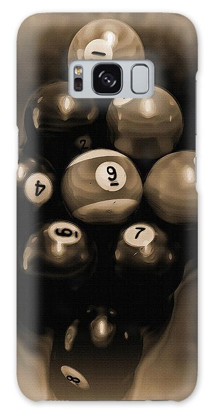Billiards Art - Your Break - Bw Opal Galaxy Case
