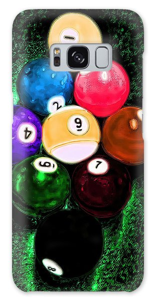 Billiards Art - Your Break Galaxy Case