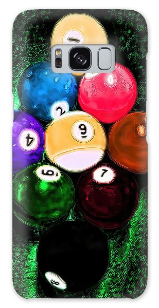 Billiards Art - Your Break Galaxy Case