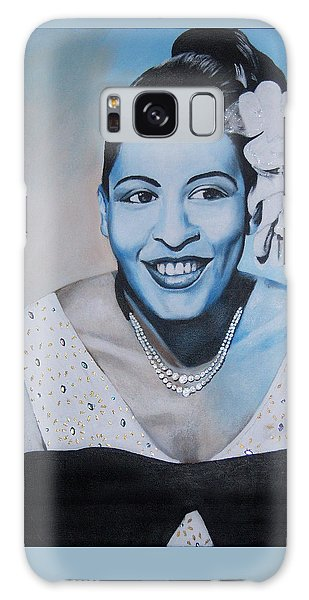 Billie Holiday Galaxy Case by Chelle Brantley
