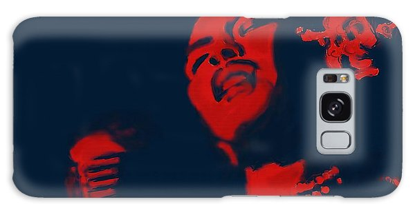 Billie Holiday Galaxy Case by Vannetta Ferguson