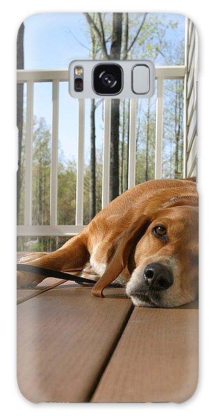 Galaxy Case - Bill's Dog by Frank Savarese