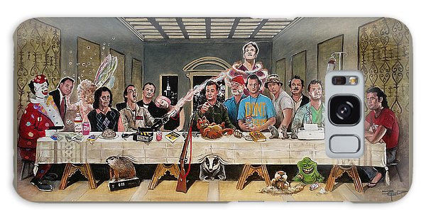 Bills Last Supper Galaxy Case