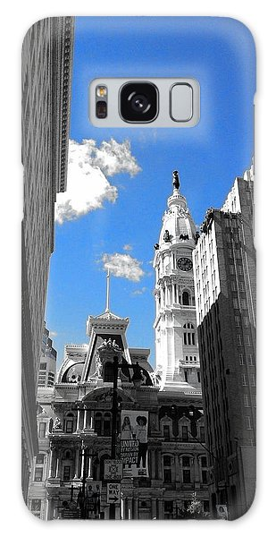 Billy Penn Blue Galaxy Case by Photographic Arts And Design Studio