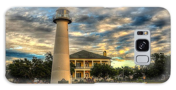 Biloxi Lighthouse And Welcome Center Galaxy Case