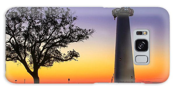 Biloxi Lighthouse Galaxy Case by Brian Wright