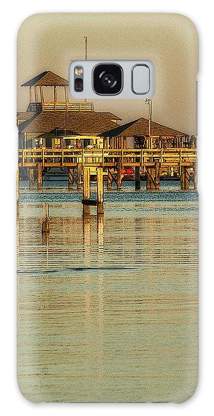 Biloxi Schooner Pier Galaxy Case