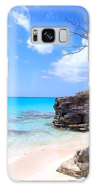 Scuba Diving Galaxy Case - Bimini Beach by Carey Chen
