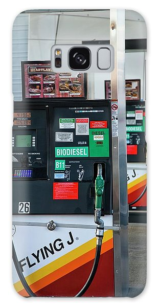 Controversial Galaxy Case - Biodiesel Fuel Pump by Peter Menzel/science Photo Library
