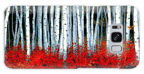 Natural Galaxy Case - Birch 24 X 48  by Michael Swanson