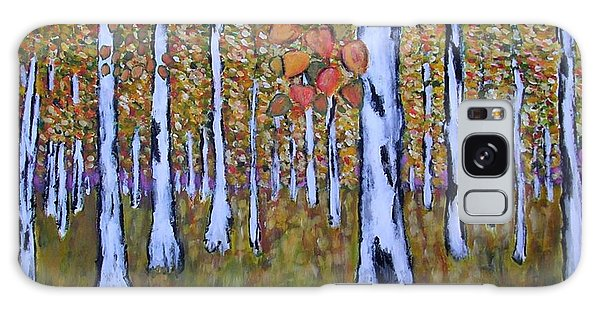 Birch Autumn Galaxy Case