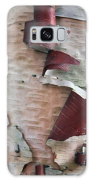 Birch Bark Galaxy Case