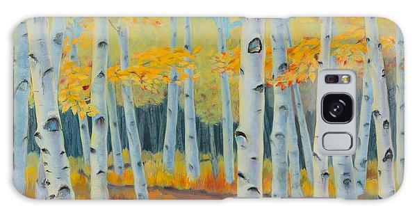 Birch Forest Galaxy Case