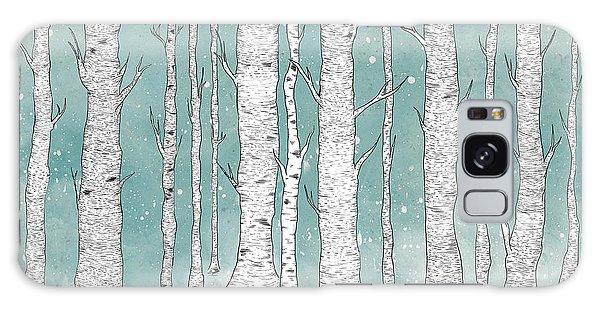 Tree Galaxy Case - Birch Forest by Randoms Print