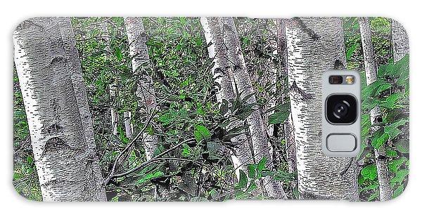 Birches Galaxy Case