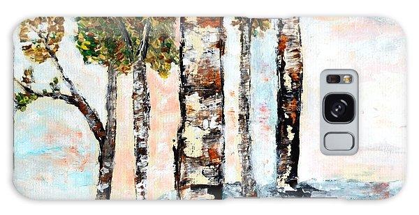 Birchwoods Galaxy Case by Ayasha Loya