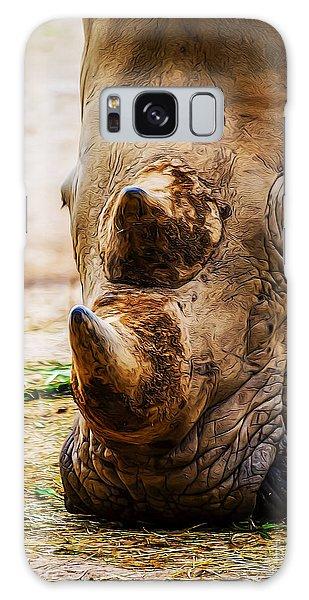 Bird And Rhino Galaxy Case