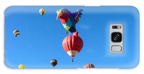 Bird Balloon Galaxy Case
