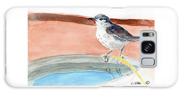Bird Bath Galaxy Case by C Sitton