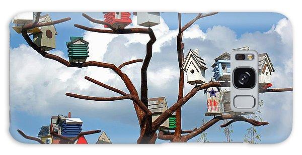 Bird House Village Galaxy Case