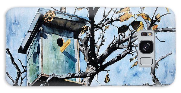 Galaxy Case - Bird House by Zuzana Vass