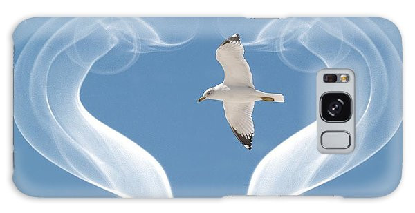 Bird In Flight Galaxy Case