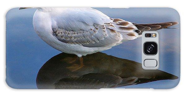 Bird Reflections Galaxy Case by John Swartz